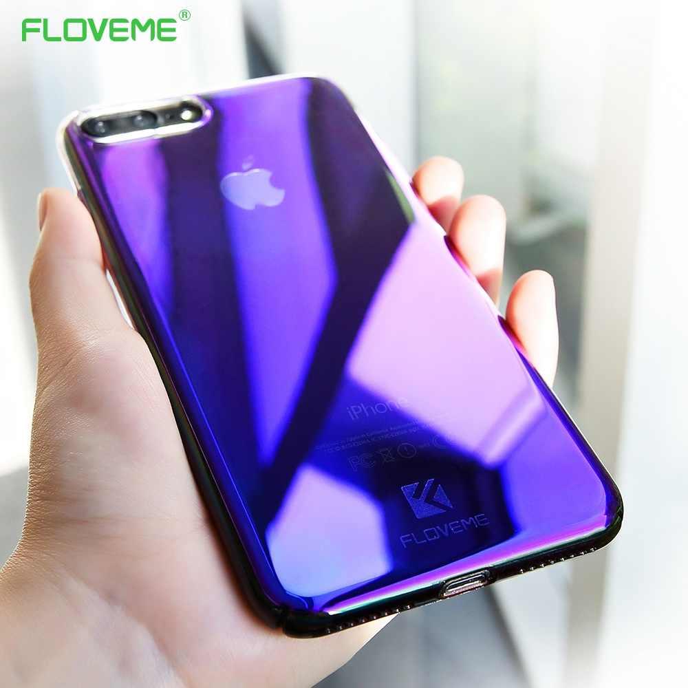 FLOVEME классный чехол для Samsung Galaxy Note 8 S9 S8 S7 S6 Edge Blue Ray чехлы iPhone 7 6s 6 Plus X XR XS Max 5S 5 Capa