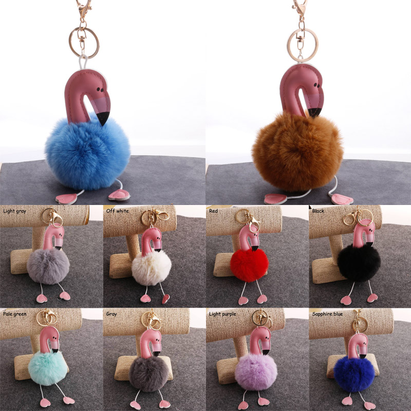 Bridesmaid Accessories Phone Decor Wedding Favors Imitation Rabbit Hair Ball Christmas Gifts Bride Party Cute Bag Pendant