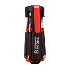 8 in 1 Mini Gadgets Repair Tools Multifunction Mini Precision Pen Screw Driver Screwdriver Set Repair Tools Kit with LED Light