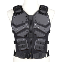 Multifunction Tactical Vest Airsoft Protective Waistcoat Adjustable Molly System Safety Vest