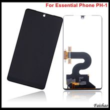 цена на Faishao Brand New Original LCD Display with Digitizer Touch Screen Assembly For Essential Phone PH-1 5.7 Replacement