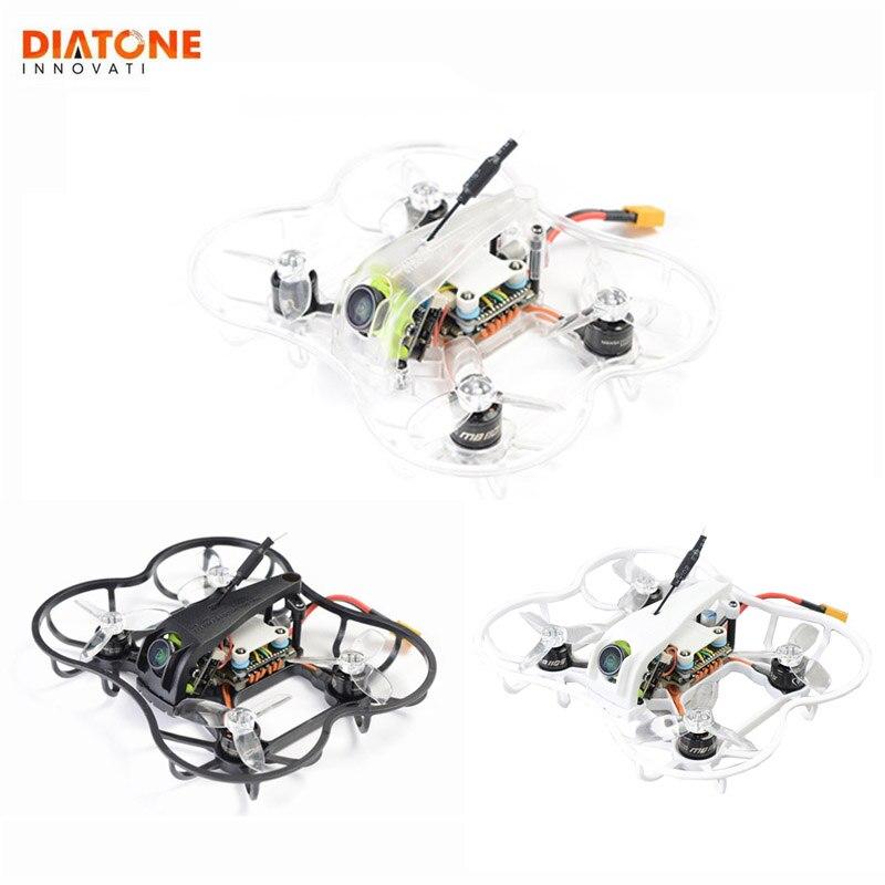 Diatone 2019 GT R239 R90 2 Inch 3S FPV Racing RC Drone PNP w/ F4 OSD 25A RunCam Micro Swift TX200U Racer Multirotor Black White
