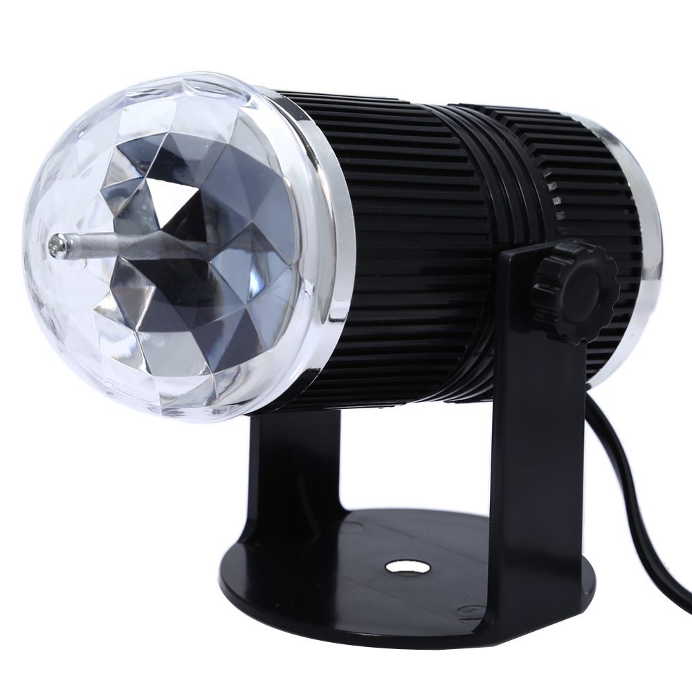 Led Crystal Stage Light Sound Activated Rgb Magic Ball Disco Dj Laser Lighting Automatically Stage Lighting Effect