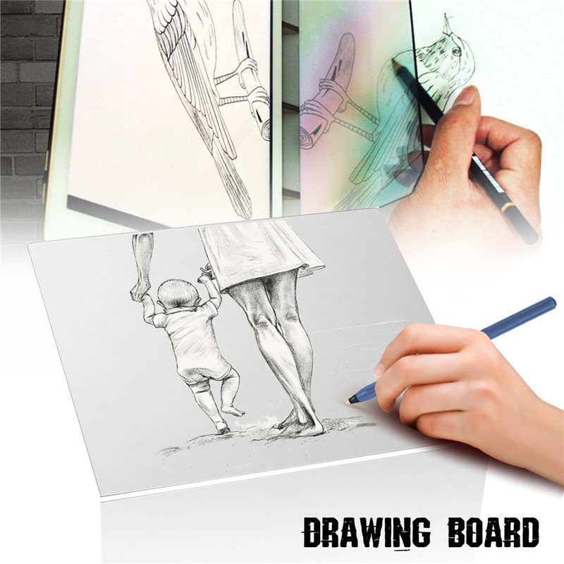 Drawing Board Pad Table Sketch Drawing Linfen Board Reflection Of Mirrors Professional Copy In Animation Catoon Architecture
