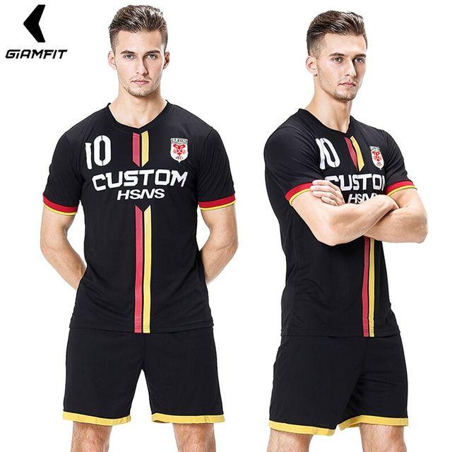 d5b4b5fbc64a7 Fútbol americano Jersey Camisetas De fútbol De diseño personalizado  uniformes De fútbol Camisetas De fútbol deportes