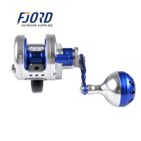 FJORD 9+2 BALL Bearings 6.1:1 BAY JIGGING Full Metal Heavy Trolling Drum Type Slow Rocking Iron Plate Release Sea Fishing Wheel
