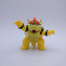 8cm Super Mario Bro Action Figures Toys Koopa Bowser Pvc Model Collection Super Mario Bros Dolls Toys For Kids Boy Birthday Gift цена