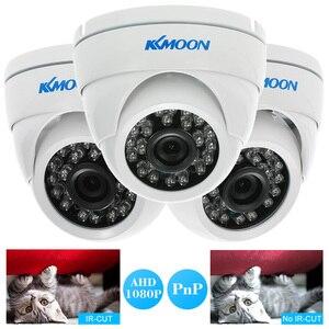 Image 2 - KKmoon caméra de vidéosurveillance dextérieur 1080P AHD 2mp 24 IR, Vision nocturne, IR CUT étanche, dispositif de sécurité dextérieur