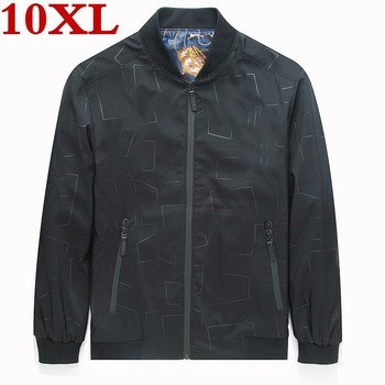 2019 new high quality Plus size 8XL 7XL 6XL  Men Fashion Casual Loose Mens Sportswear Mens Jacket trench coat