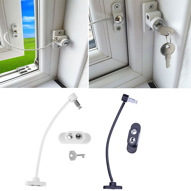 Baby Safety Lock Window Door Restrictor Security Cable Lock Catch Wire Opening Restrictor Hot Sale Baby Kids Safety ProductionBaby Safety Lock Window Door Restrictor Security Cable Lock Catch Wire Opening Restrictor Hot Sale Baby Kids Safety Production
