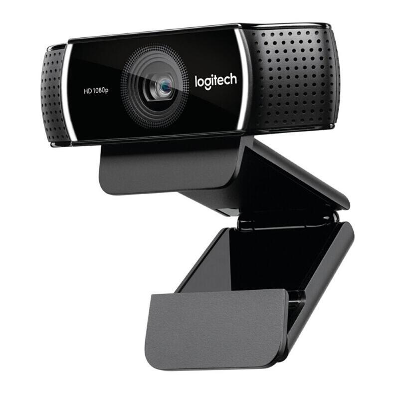 Logitech C922 Pro Autofocus Webcam 1080 P 30FPS Full HD Streaming vidéo ancre caméra Microphone intégré Web Cam avec trépied