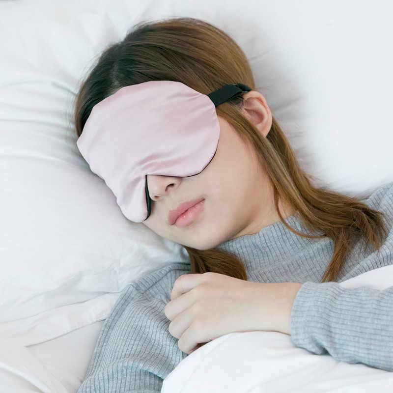 Tidur Masker Mata Panas Dingin Menggunakan Tidur Pelindung Mata Menutupi Seluruh Masker Lembut Mata Perjalanan Home Office Pribadi Perawatan Kesehatan
