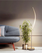 Modern Minimalist Wrought Iron Dimming Lights Floor Lamp E27 220V Lighting Living Room Bedroom Kitchen Living Room Study Hotel недорого