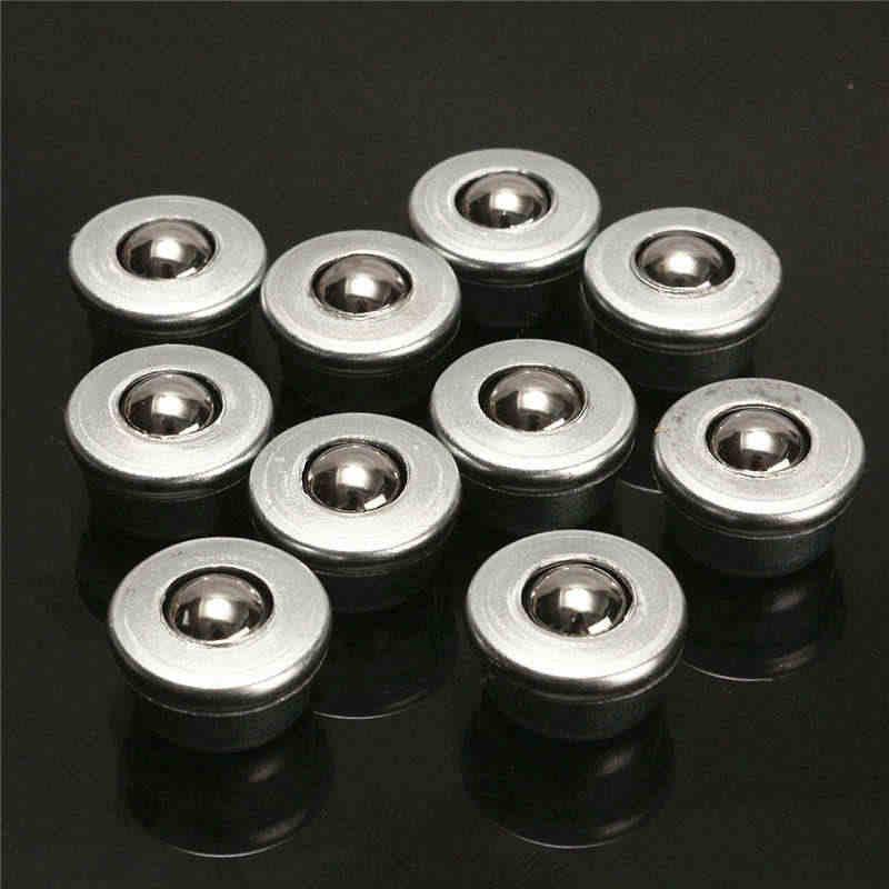 Абсолютно Новый диаметр 8 мм 10 шт CY-8H шариковый металлический передающий подшипник блок Конвейерный ролик