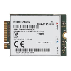 Беспроводная сетевая карта EM7305 LTE NGFF интерфейс 4G WiFi карта Поддержка GPS 100 Мбит/с скорость загрузки