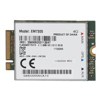 Wireless EM7305 LTE NGFF Interface Network Card 4G WiFi Card Support GPS 100 Mbps Download Speed