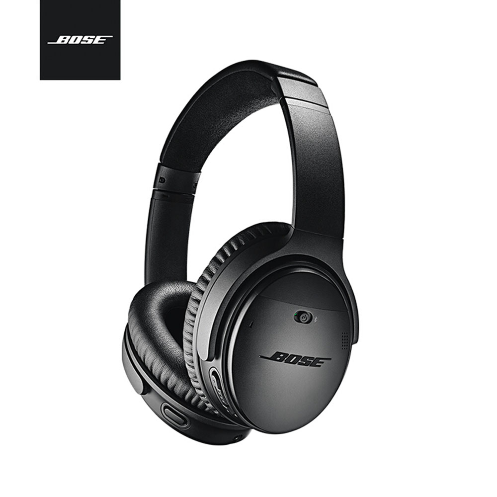 Bose QuietComfort 35 II ANC Wireless Bluetooth Headphones Over Head Bass Headsets Acoustic Noise Cancelling Earphones