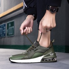 2019 Sports Shoes Men Spring Winter Breathable Waterproof Massage Zapatillas Hombre Deportiva Outdoor Jogging Sneakers Men 270
