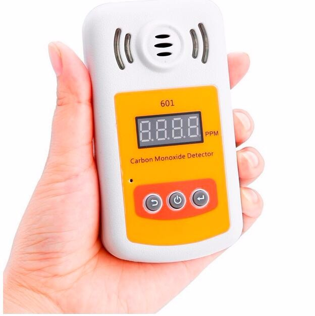 KXL-601 Mini Carbon Monoxide Detector Meter CO Gas Leak Detector Meter With Sound And Light Security Alarm Gas Monitor Analyzer