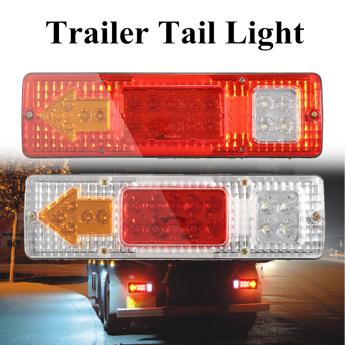 Automobiles & Motorcycles Nice Side Marker Light Lamp 1 Pair Dc 24v 6 Led Bus Van Truck Lorry Trailer Indicator 828 Promotion