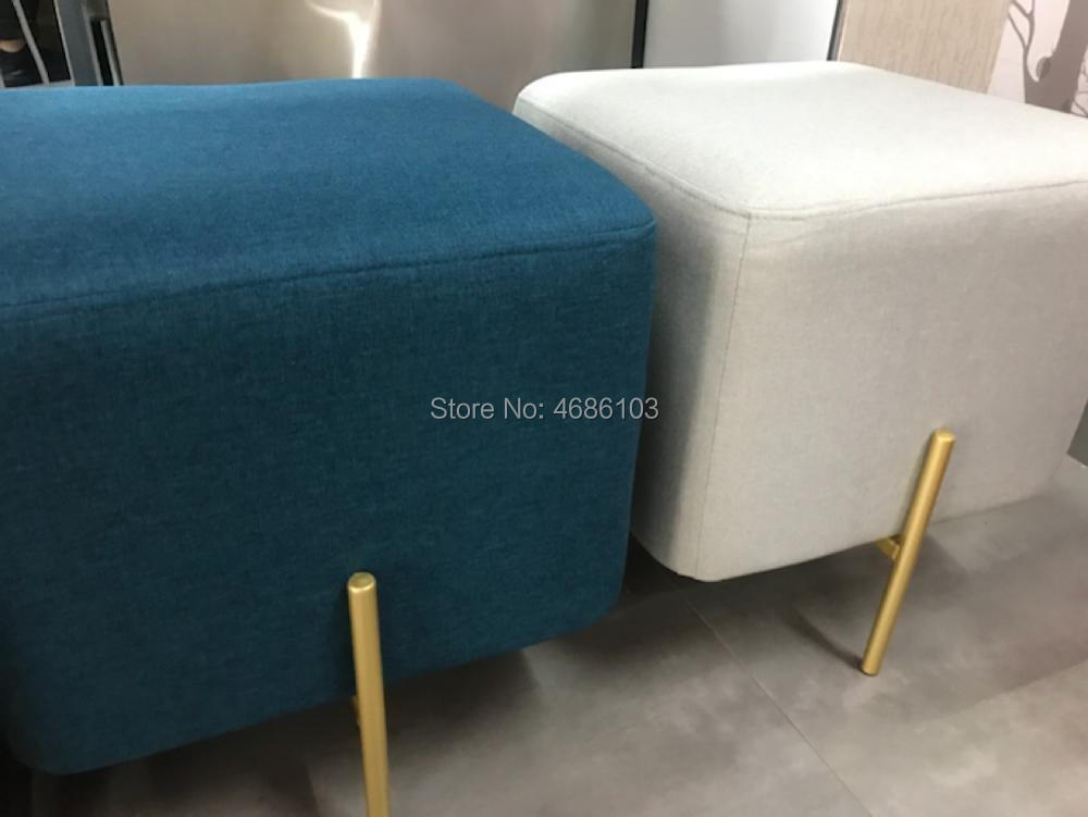 Pleasant Flannelette Fabric Nordic Style Modern Fancy Shoe Long Chair Caraccident5 Cool Chair Designs And Ideas Caraccident5Info