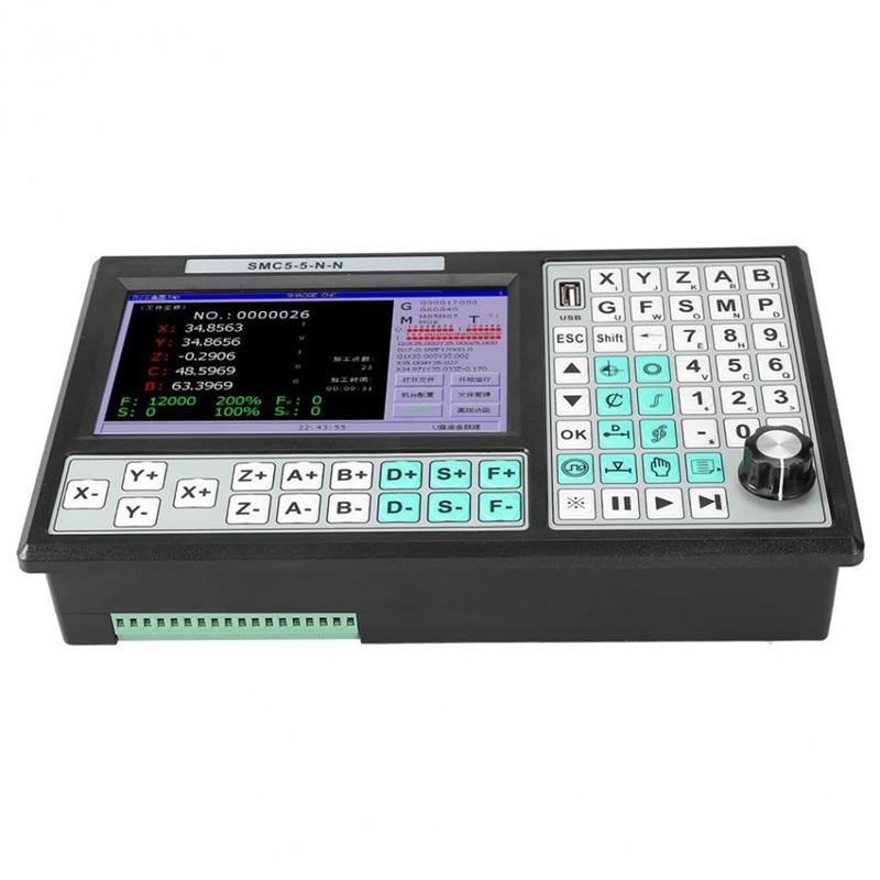 CNC 5-achsen Offline Controller 500KHZ Motion Controller 7 Zoll Großen Bildschirm Ersetzen Mach 3 USB für Gravur fräsen Maschine Neue