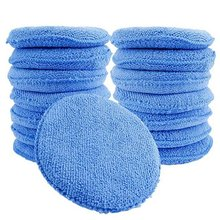 15 Pcs Standaard Microfiber Applicator Pads-Blauw Wax Applicator(China)