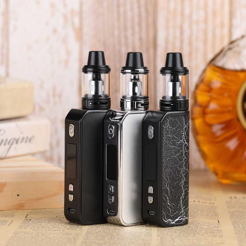 オリジナル 80 ワット e タバコのための液体ボックス mod キット蒸気煙吸うペン電子タバコ vaper 喫煙気化器水ギセル vapes