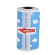 Милый мультфильм точные Термоэтикетки рулон 57*30 мм сильноклейкая лента прозрачная печать для PeriPage A6 карманный BT термопринтер