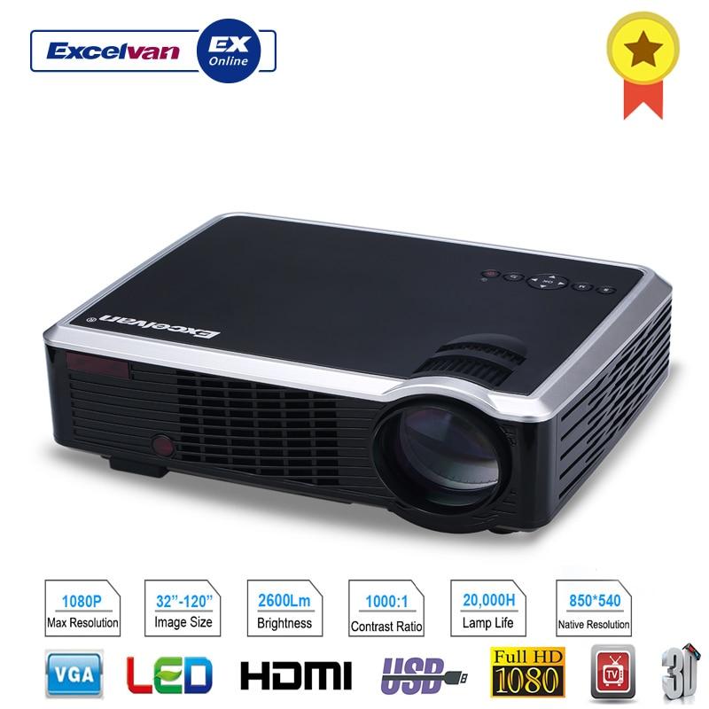 HD 1080P LED Multimedia Projector Home Cinema Theater PC AV TV USB VGA HDMI USA