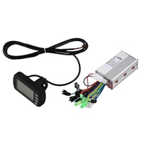 36V 350W Brushless Electric Bicycle Controller With Lcd Panel Meter Digital Gauge Set For E Bike Electric Bike Scooter