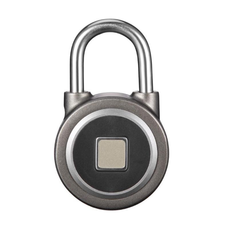 Cadenas Bluetooth téléphone APP étanche sans clé serrure d'empreintes digitales déverrouiller Anti-vol serrure de porte cadenas d'empreintes digitales pour IOS Android