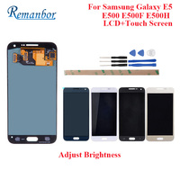 Remanbor For Samsung Galaxy E5 LCD E500 E500F E500H LCD Display And Touch Screen Perfect Repair Parts Digital Accessory +Tools