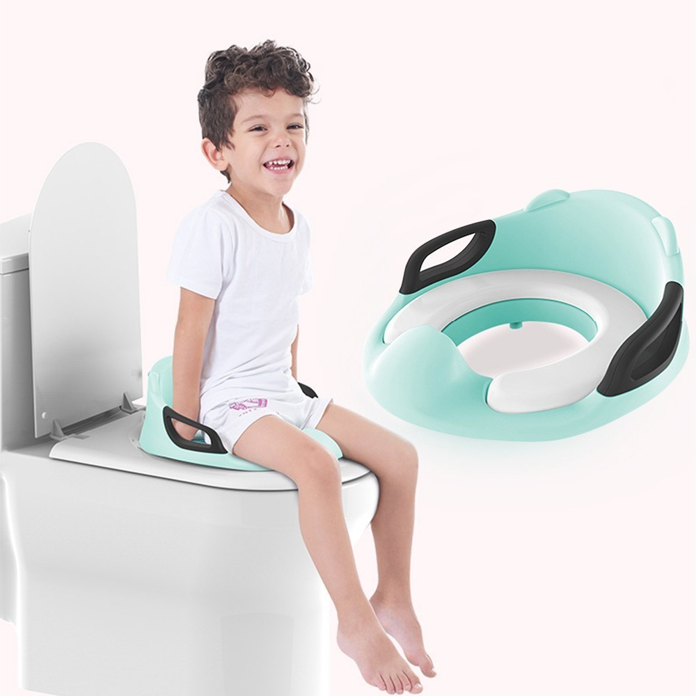 Baby Kids Toilet Potty Child Potty Boys Girls Travel Pot Training Seat Cute Portable Toilet Ring Children Chair Urinal Potty