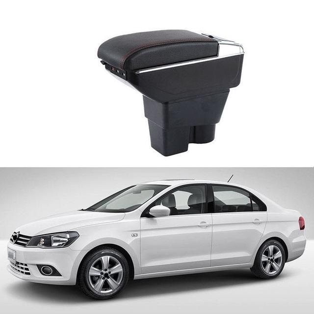 Arm Rest Modification Car-styling Car Armrest Box 01 02 03 04 05 06 07 08 09 10 11 12 13 14 15 16 17 FOR Volkswagen Jetta