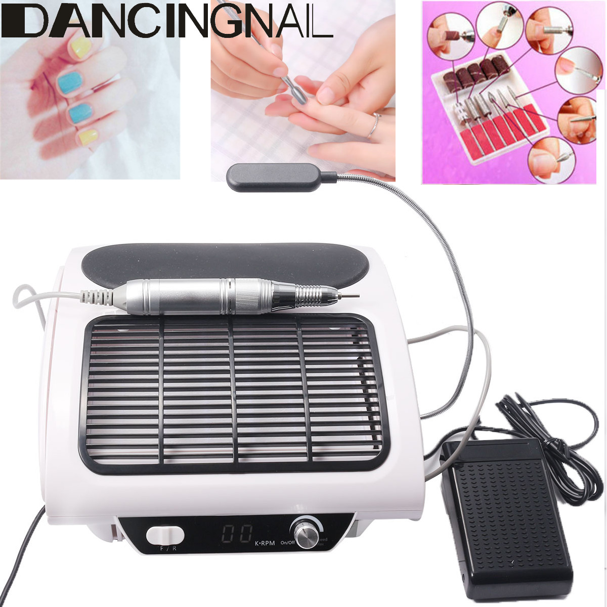 24W Nail Dust Collector Fan Suction Machine Vacuum Cleaner for Manicure Nail Dust Collector Nail Art Salon Equipment 2019 New24W Nail Dust Collector Fan Suction Machine Vacuum Cleaner for Manicure Nail Dust Collector Nail Art Salon Equipment 2019 New