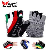 Guantes para ciclismo bicicleta mtb guantes para ciclismo bicicleta guantes cortos ciclismo LICRA medio deporte algodón nylon Lino montar a caballo hombres