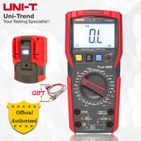 UNI-T UT89X/UT89XD true RMS Digital multimeter; 20A high current digital multimeter, NCV/capacitor/triode/temperature test
