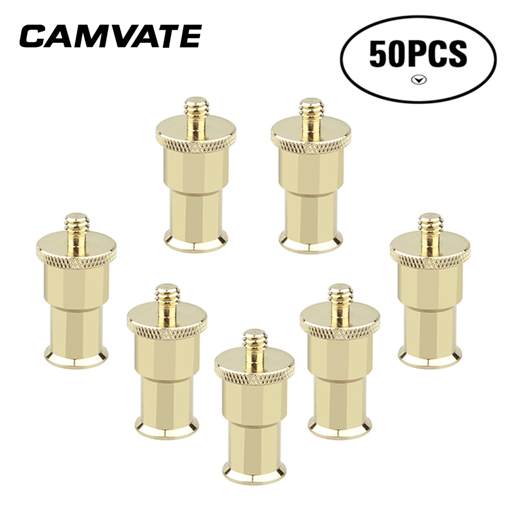 Consumer Electronics Brilliant 50pc Light Umbrella Flash Holder Adapter With 1/4 Male Screw For Photo Studio Er128 Photo Studio Accessories