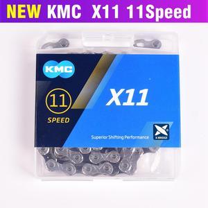 Image 3 - KMC cadena de bicicleta X8 X9 X10 X11 X12 Z9 Z8.3, 116L 11 10 9 8, cadena de velocidades con botón mágico para piezas de bicicleta de montaña