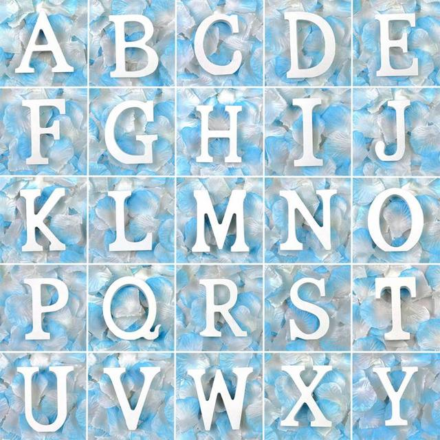 DIY Home Decor Wooden Letters Alphabet Word Bridal Wedding Party Home Decor  Nautical Decor Supplies Ornaments Wholesale#0118 5