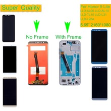 цена на 10Pcs/lot LCD For HUAWEI Honor 9 Lite LCD Display Touch Screen Digitizer with Frame LLD-AL00 LLD-AL10 LLD-TL10 LLD-L31 Assembly