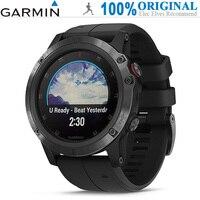 GARMIN Fenix 5X Plus Smart Watches (Sapphire Mirror, GPS, Pedometer, Heart Rate Monitor, Sync Sports Data, 16GB ROM, Waterproof)