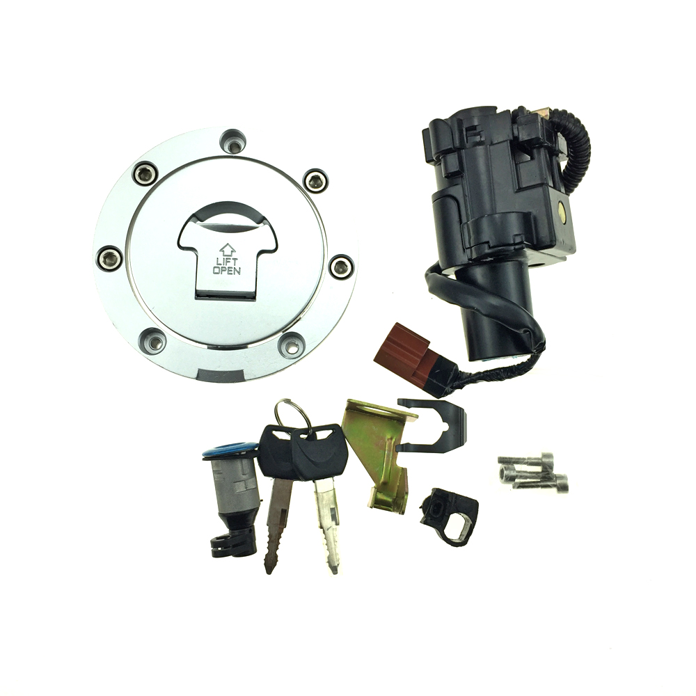 US $32 9 6% OFF|Motorcycle Ignition Switch Gas Cap Fuel Tank Cover Seat  Lock key Set For Honda CB1000 CB 1000 09 14 CBR1000 RR CBR1000RR 08 14-in