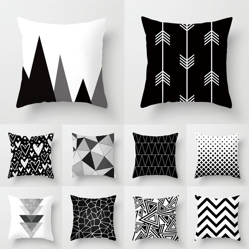 Pillow Case Office Home Car Sofa Decoration Multi Color Soft Cushion Cover