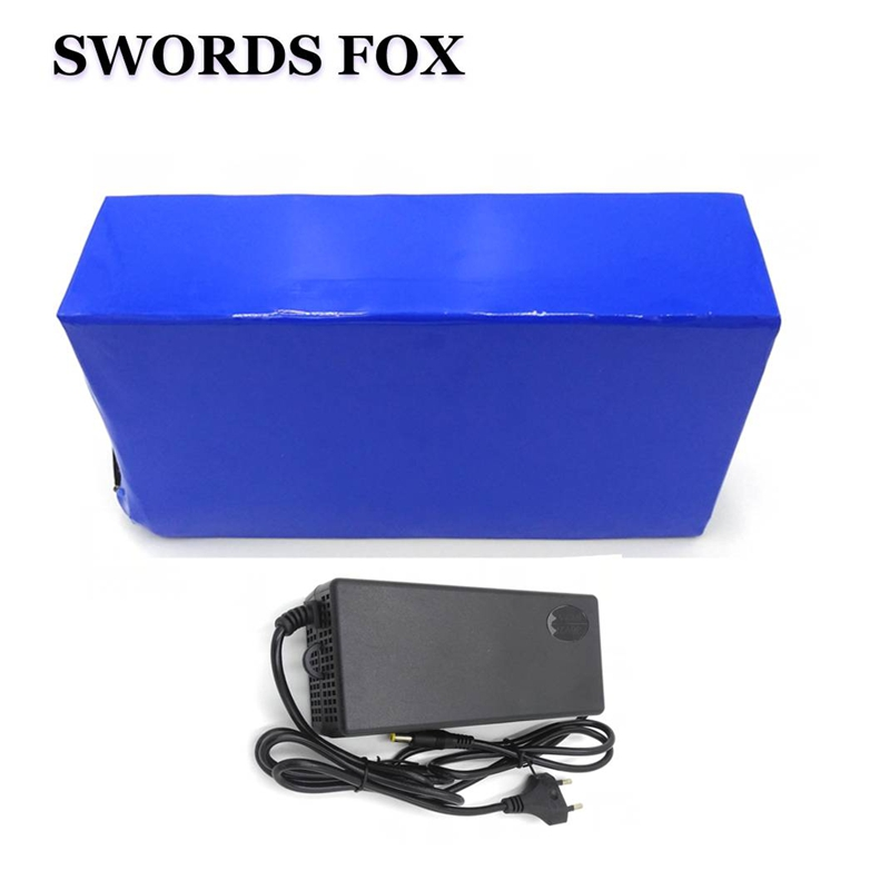 SWORDS FOX 60V 20AH 2000W electric bike battery lithium battery power battery With 50A BMS and