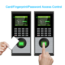 Fingerprint Access Control System TCPIP USB Biometric Attendance Time Clock Entry Exit Recorder For Safe Home Office