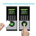 Sistema de Controle de Acesso por impressão digital Sistema de Atendimento Biométrico TCPIP USB Gravador de Relógio de Tempo de Entrada e Saída Para Segurança Home Office