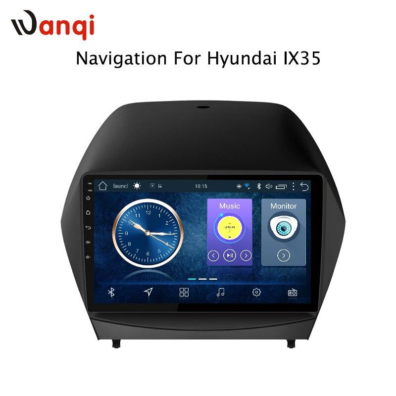 9 pollici android 8.1 Autoradio DVD Player per Hyundai IX35 2010-2013 di Navigazione GPS con DVR Macchina Fotografica Posteriore specchio link