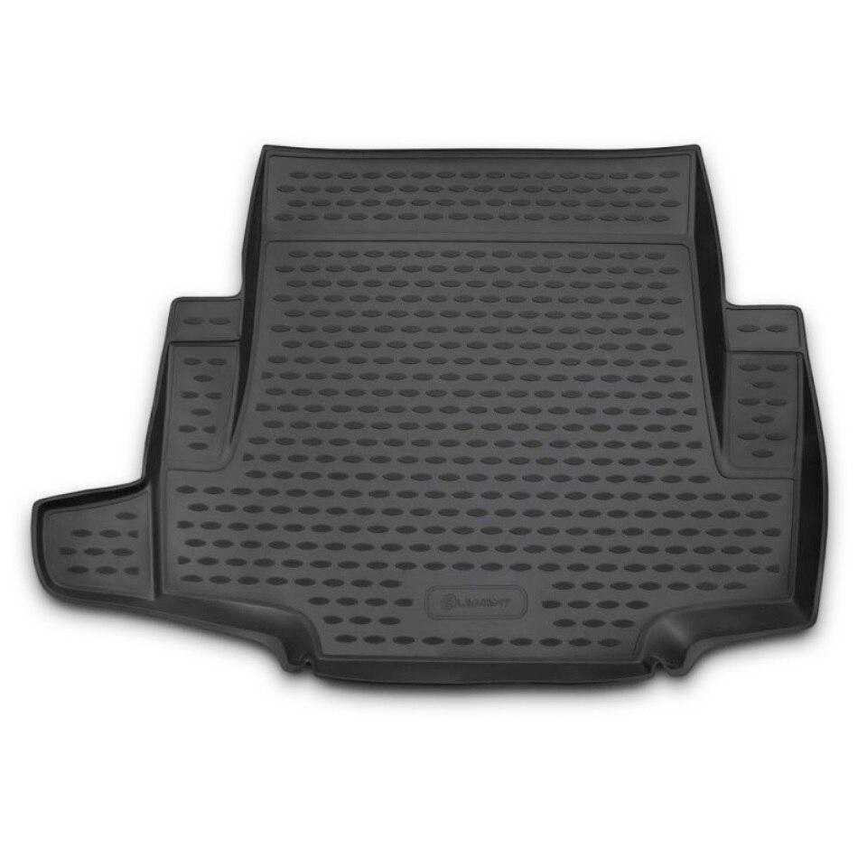 цены For BMW 1-series 5D 2004-2011 black car trunk mat Element NLC0504B11